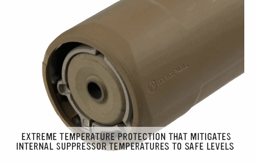 Magpul industries corp suppressor cover able to stand up the extreme temperatures caused also rh uk pinterest