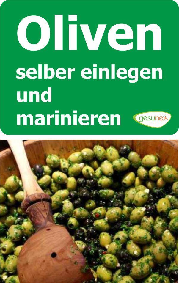 oliven selber einlegen und marinieren gesunde ern hrung. Black Bedroom Furniture Sets. Home Design Ideas