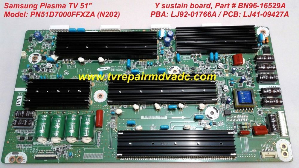 Details about Samsung PN51D6900 , PN51D8000 Y-Main Board BN96-16529A