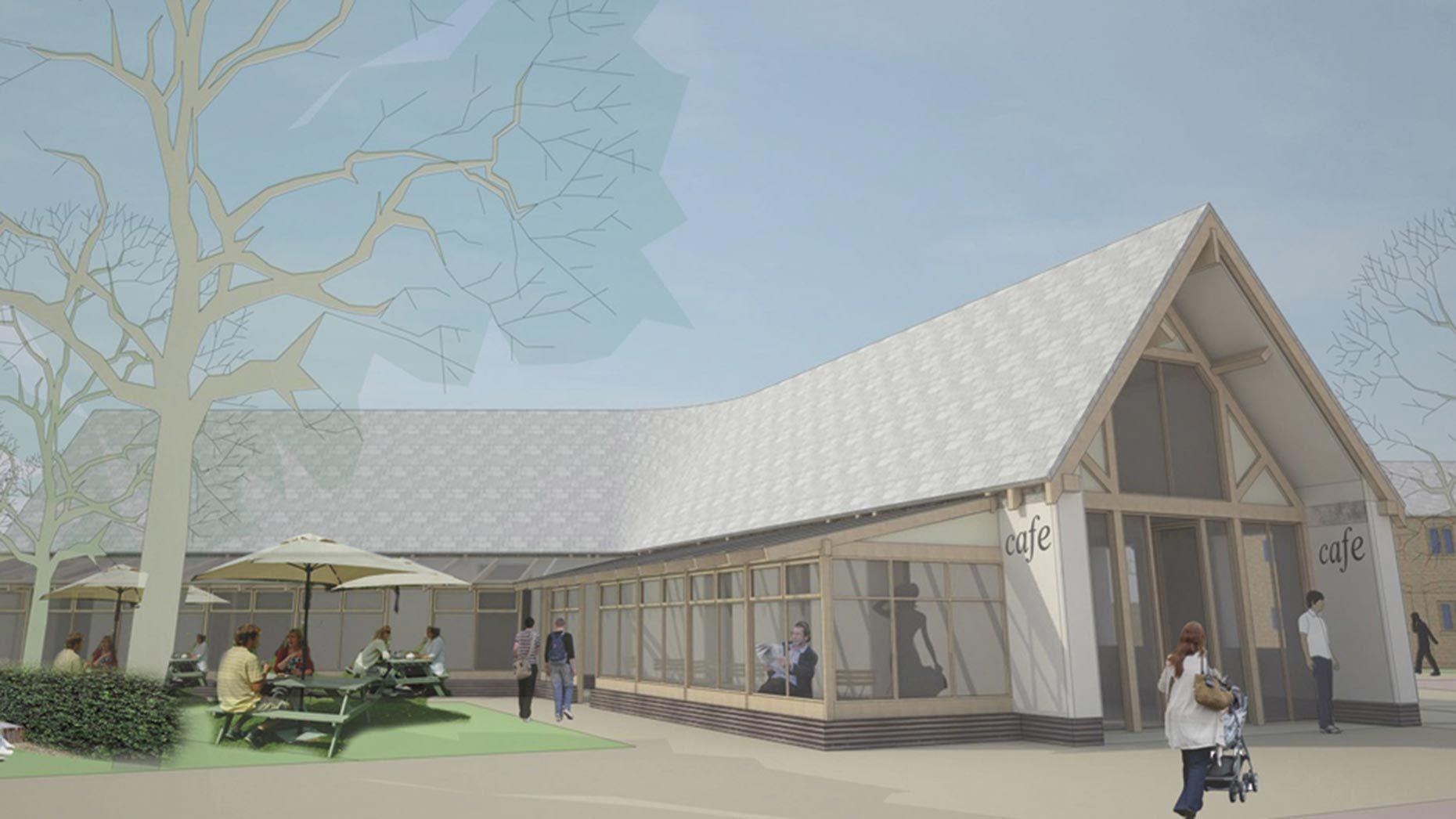 Multi Million Pound Lincoln Park Regeneration Given Green Light Open Space Property Light Green