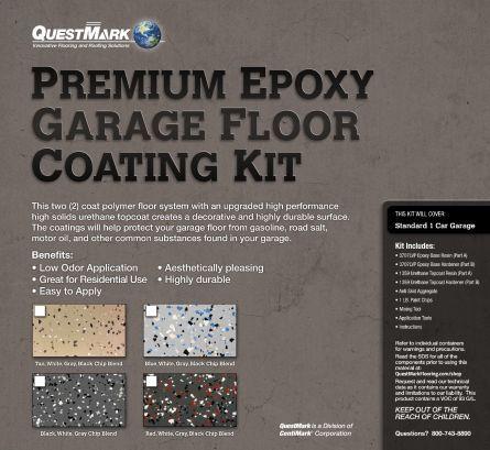 Best Questmark Premium Epoxy Garage Floor Coating Kit In 2020 640 x 480