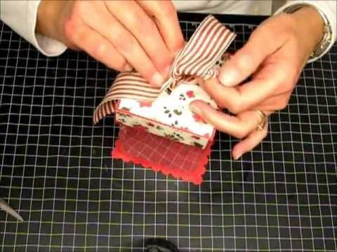 How To Make: An Ornament Gift Box - Part 2 of 2.wmv