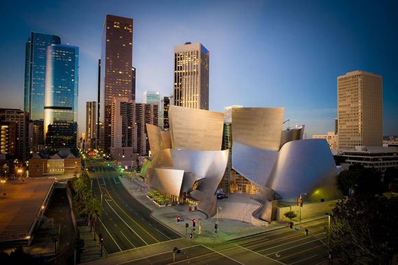 Walt Disney Concert Hall, Los Angeles, California, United States - Frank Owen Gehry