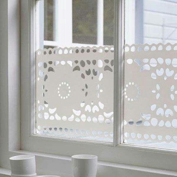 Sichtschutz Fenster gardinen, Badezimmer ohne fenster