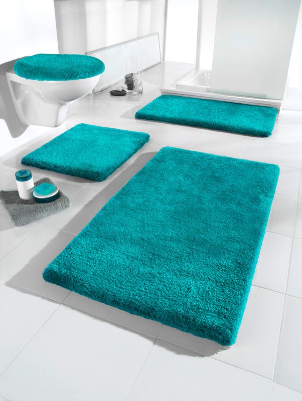 Badezimmer, Türkis