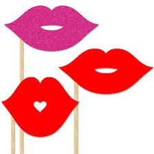 Image Result For Giant Red Lips Prop Photobooth Valentines Class