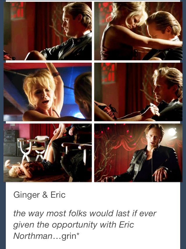 True blood eric and ginger