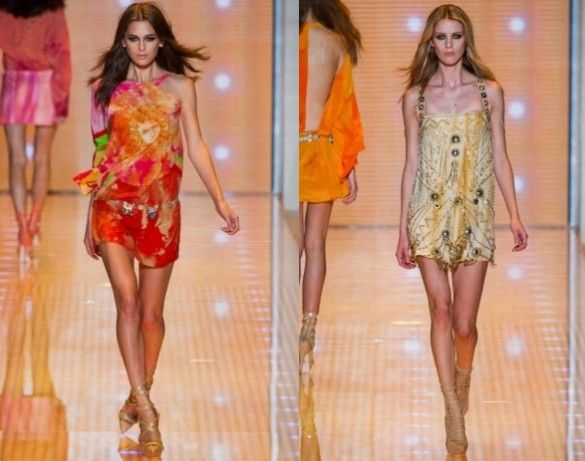Versace's Spring and Summer 2013 Collection