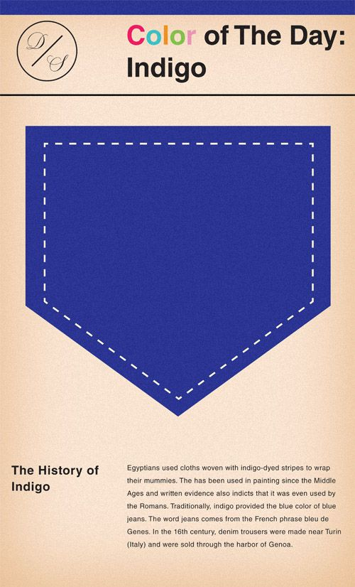 The history of Indigo #color #history