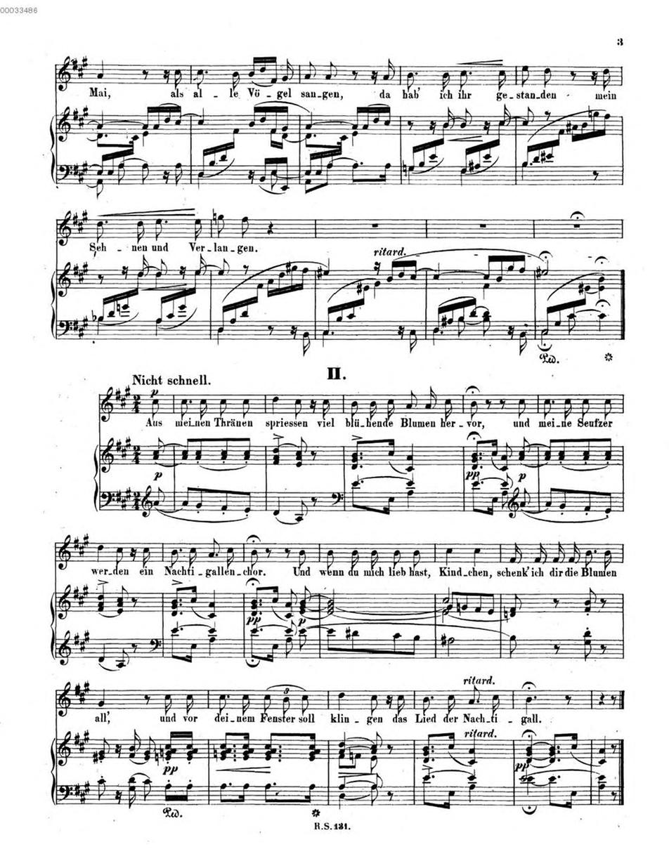 Dichterliebe, Op 48 (Schumann, Robert) - IMSLP/Petrucci