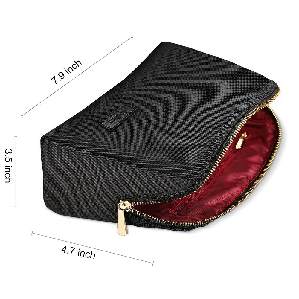 61e663ffb107 ProCase Cosmetic Makeup Bag Handy Purse Makeup Pouch Clutch ...