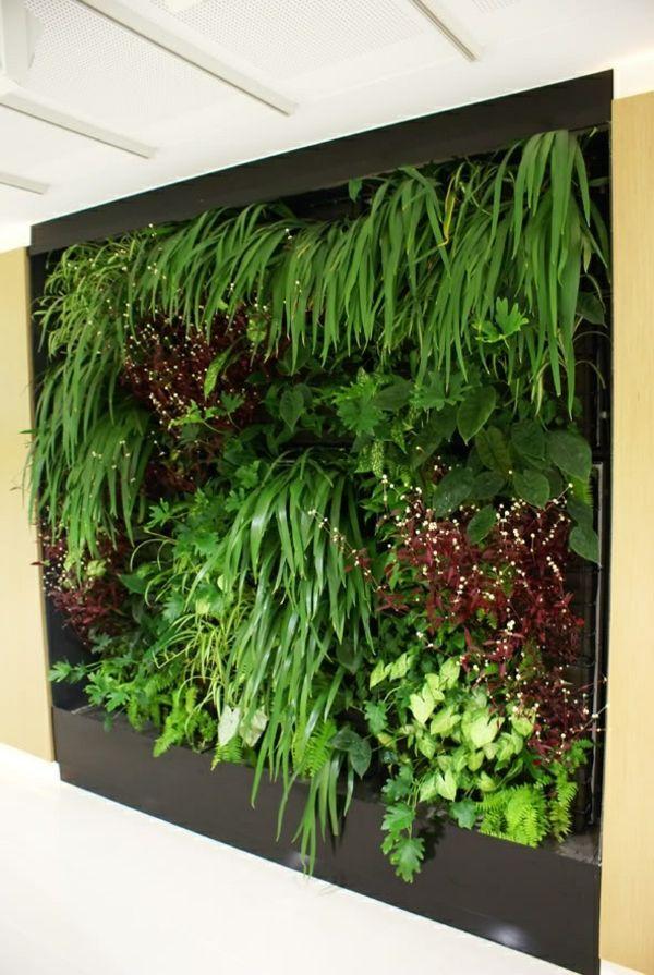 vertikaler garten gestalten sie ihr zuhause mit pflanzen pinterest vertikaler. Black Bedroom Furniture Sets. Home Design Ideas