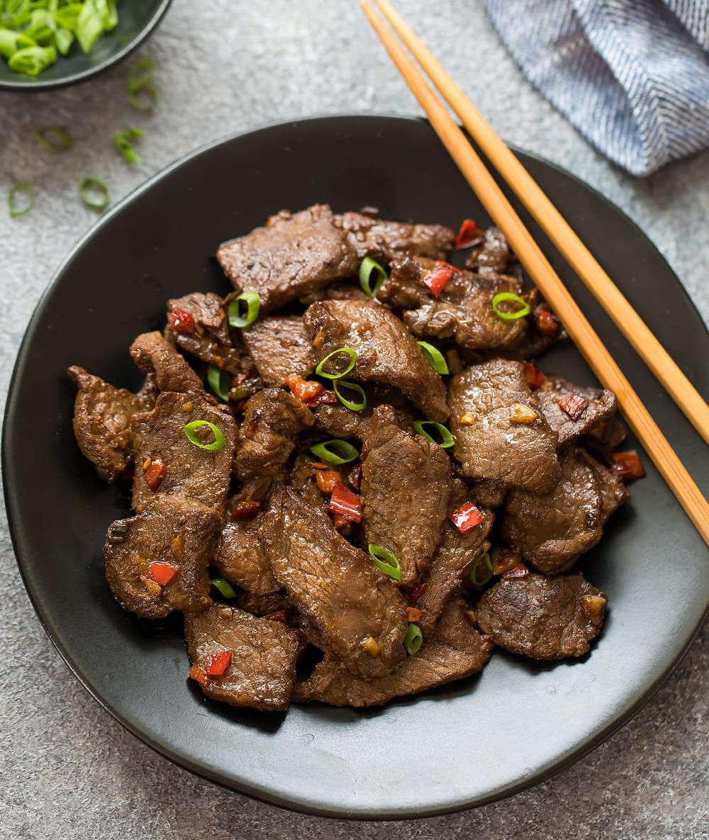 Spicy Hunan Beef Recipe Chinese Cooking Cooking Meat Easy Chinese Recipes