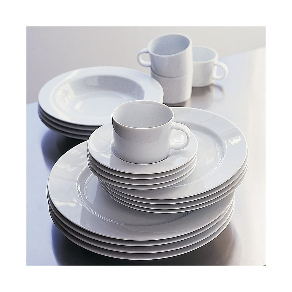 White dishes - Maison dinnerware Crate and Barrel. Just purchased and mixed with Sur La Table soup tureen white platter and grocery store white serving ...  sc 1 st  Pinterest & White dishes - Maison dinnerware Crate and Barrel. Just purchased ...