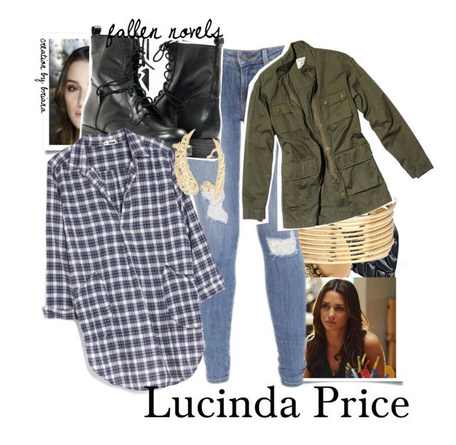 """""""Lucinda Price Plaid --"""" by scarlett-iconer ❤ liked on Polyvore"""