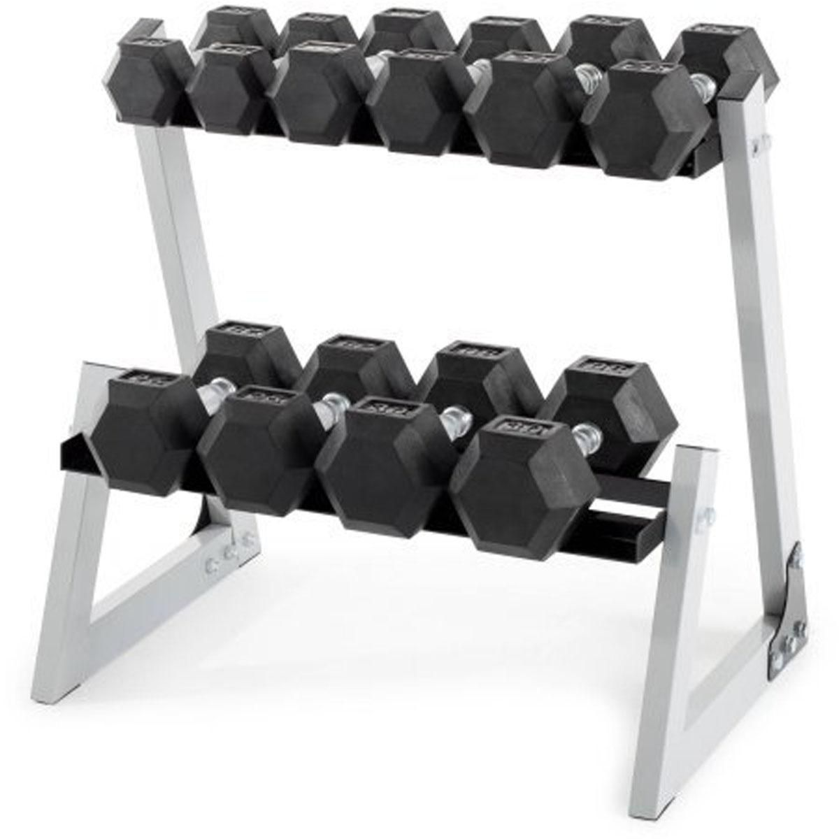 Weider 200 Lb Dumbbell Set With Rack