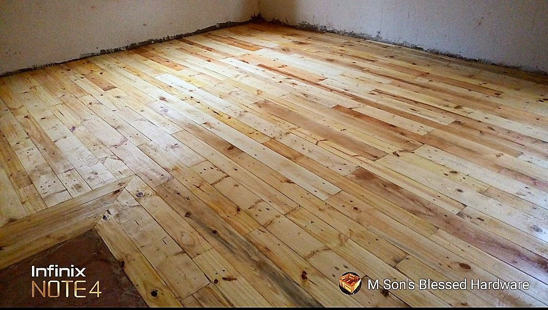 Soft wood for wooden floor doing good in some areas. #softwoodfloordecor #floorsanding call us any time on +254700711539 or +254732650820 for more information.