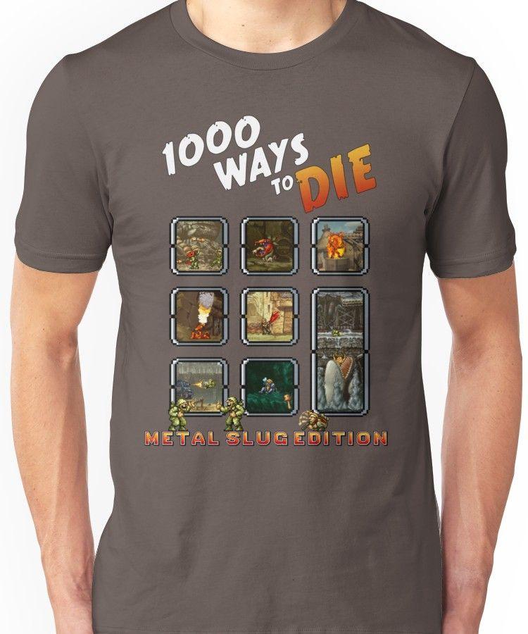 1000 ways to die - Metal Slug Edition Unisex T-Shirt