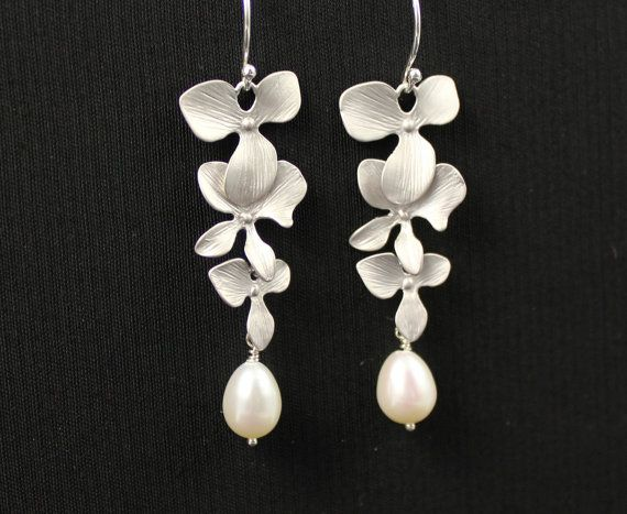 Hawaiin Wedding Earrings
