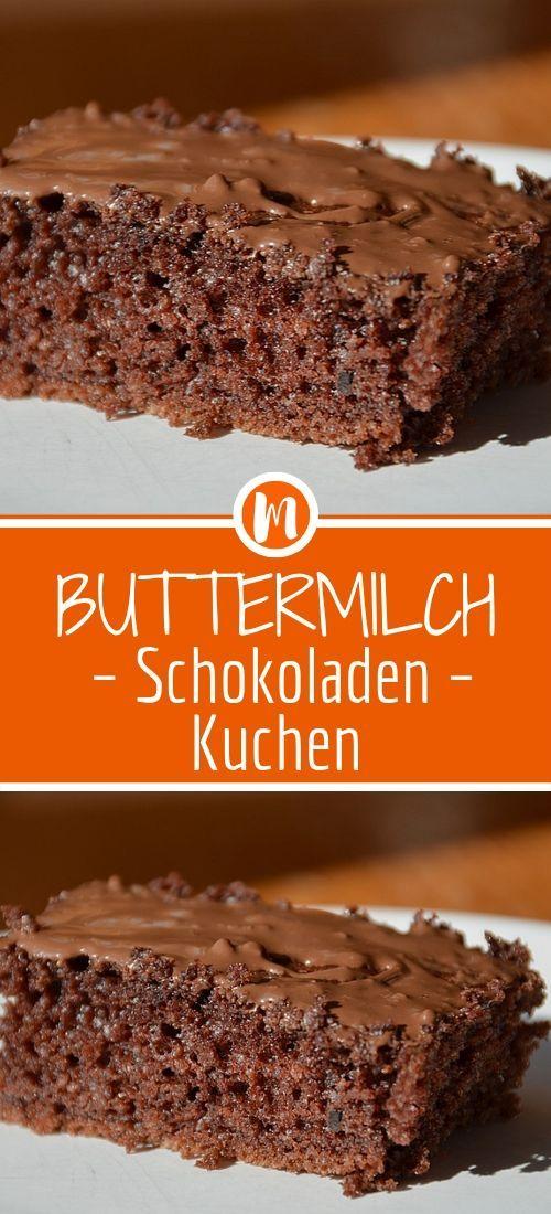 Buttermilch – Schokoladen – Kuchen  #bananapie
