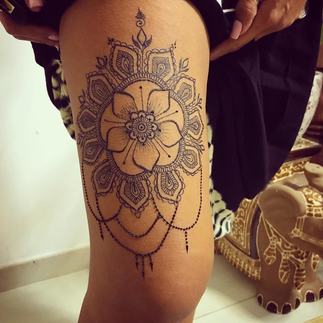 finished design henna hennatattoo hennadesign