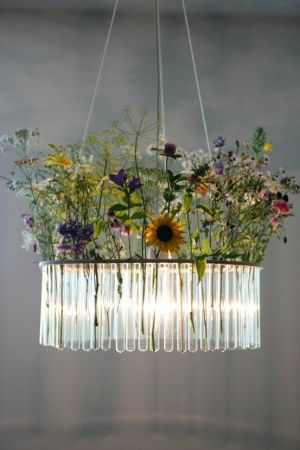 Flower vase Chandelier by evelyn