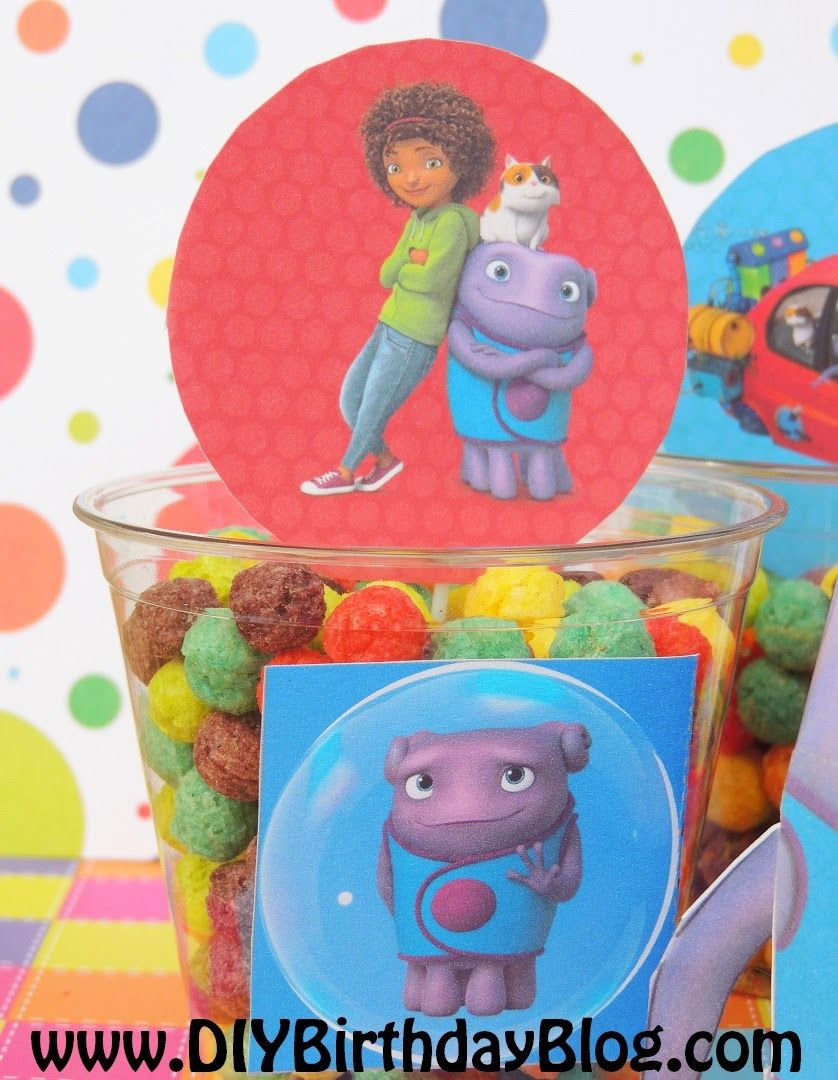 Nice Home Birthday Party Idea  Tip, Boov Known As Oh, Pig The Cat