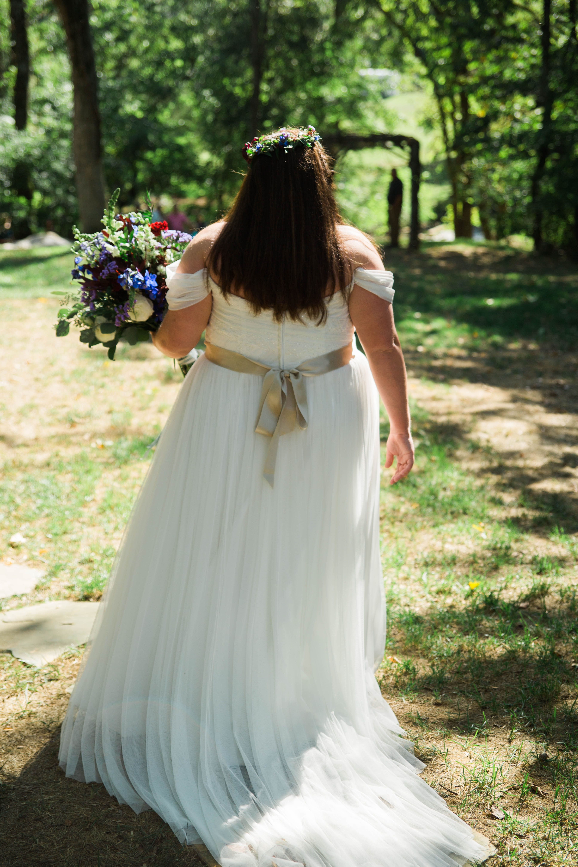 Playne Jayne Photography, The Millstone, East Tennessee, Plus Size Bride, Wedding