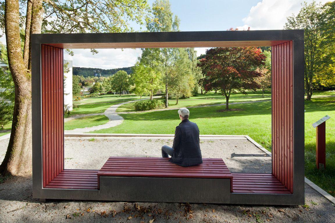 Landscape Therapeutic Park Brilon North Rhine Westphalia Germany By Planergruppe Oberhausen Landschaftsplanung Architektur Landschaftsbau