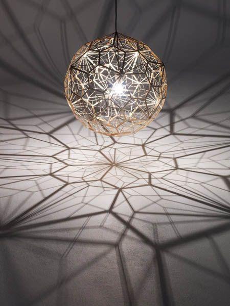 pendant lighting design. pendant light that creates amazing shadows lighting design h
