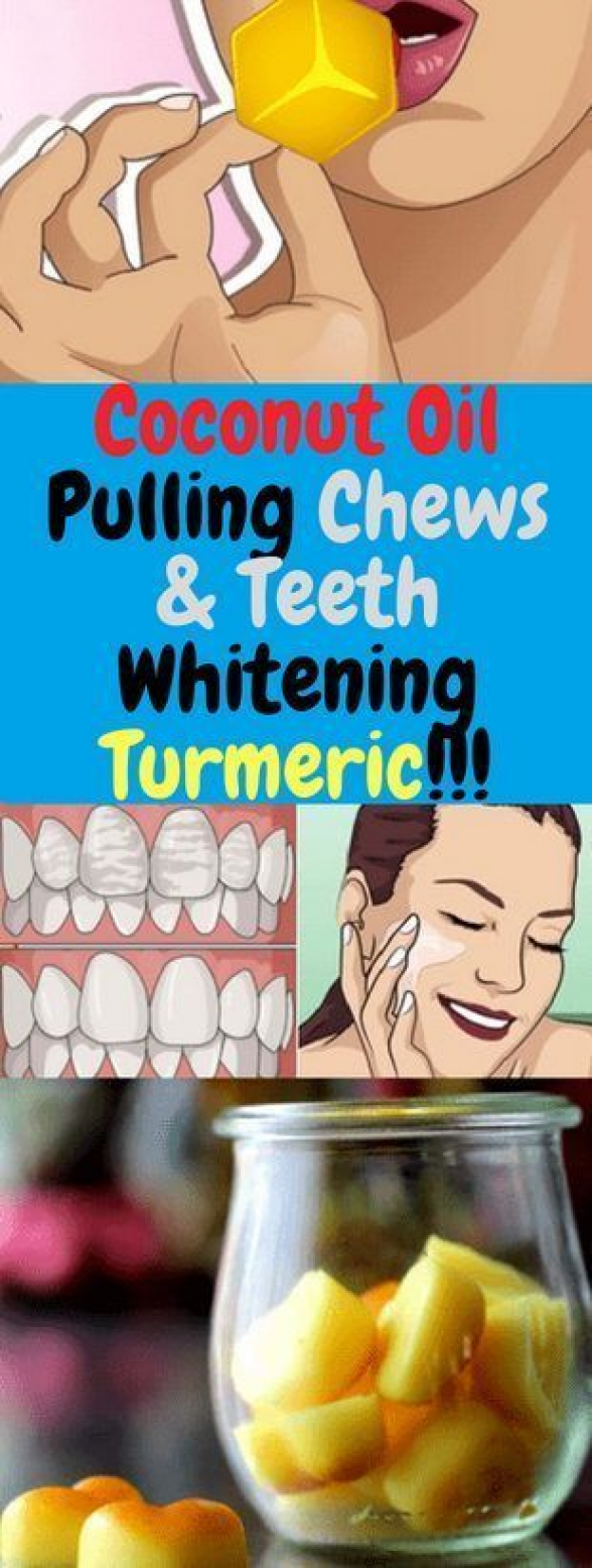 Coconut Oil Pulling Chews & Teeth Whitening Turmeric!!! #Coconut #Oil #Pulling #Chews #Teeth #Whitening #Turmeric #reduceweight