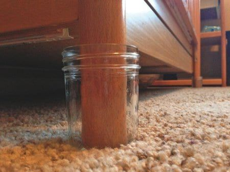 Parents Concerned With Scorpions Can Place Crib Feet In Glass Mason Jars Since Bark Scorpions Can T Crawl Up Gl Diy Pest Control Pest Control Glass Mason Jars