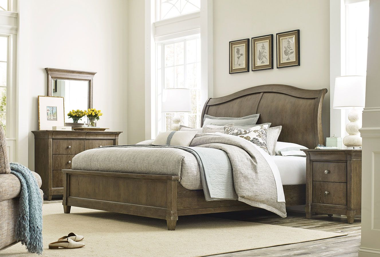 Anson Ashford Sleigh Bedroom Set Sleigh bedroom set