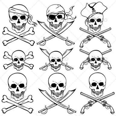Image Result For Pirate Symbol Tattoo Pirate Tattoo Pirate Skull Tattoos Pirate Symbols