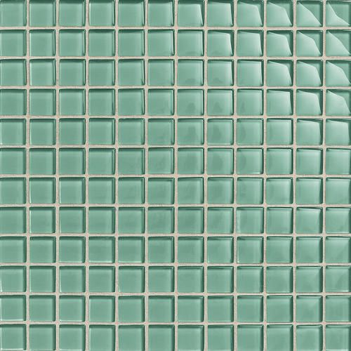Daltile Glass Reflections Mosaic Wall Tile 1 -  menards || This is fun!