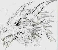 154cf9d9be42b8646e1a969bb25ab498 » Cool Dragon Drawing