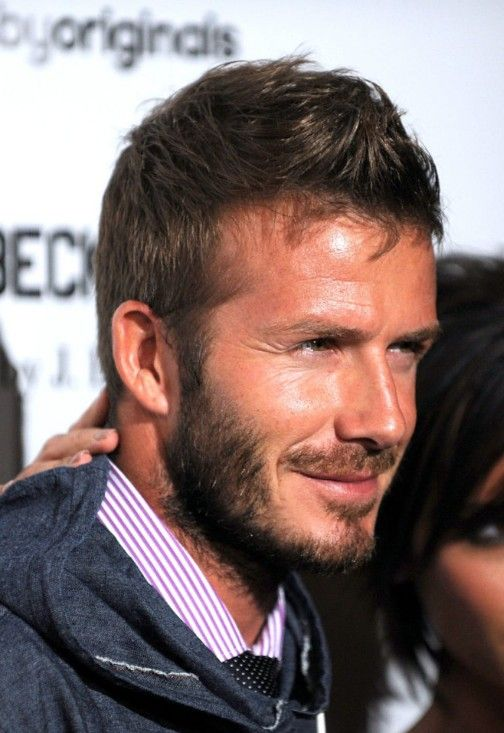 Short Haircut For Men David Beckham Faux Hawk Hairstyles - New hairstyle of beckham