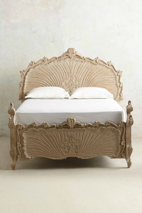 Wood Carved Bedframe from Anthropologie | Home & Garden, Furniture, Beds & Mattresses | eBay!