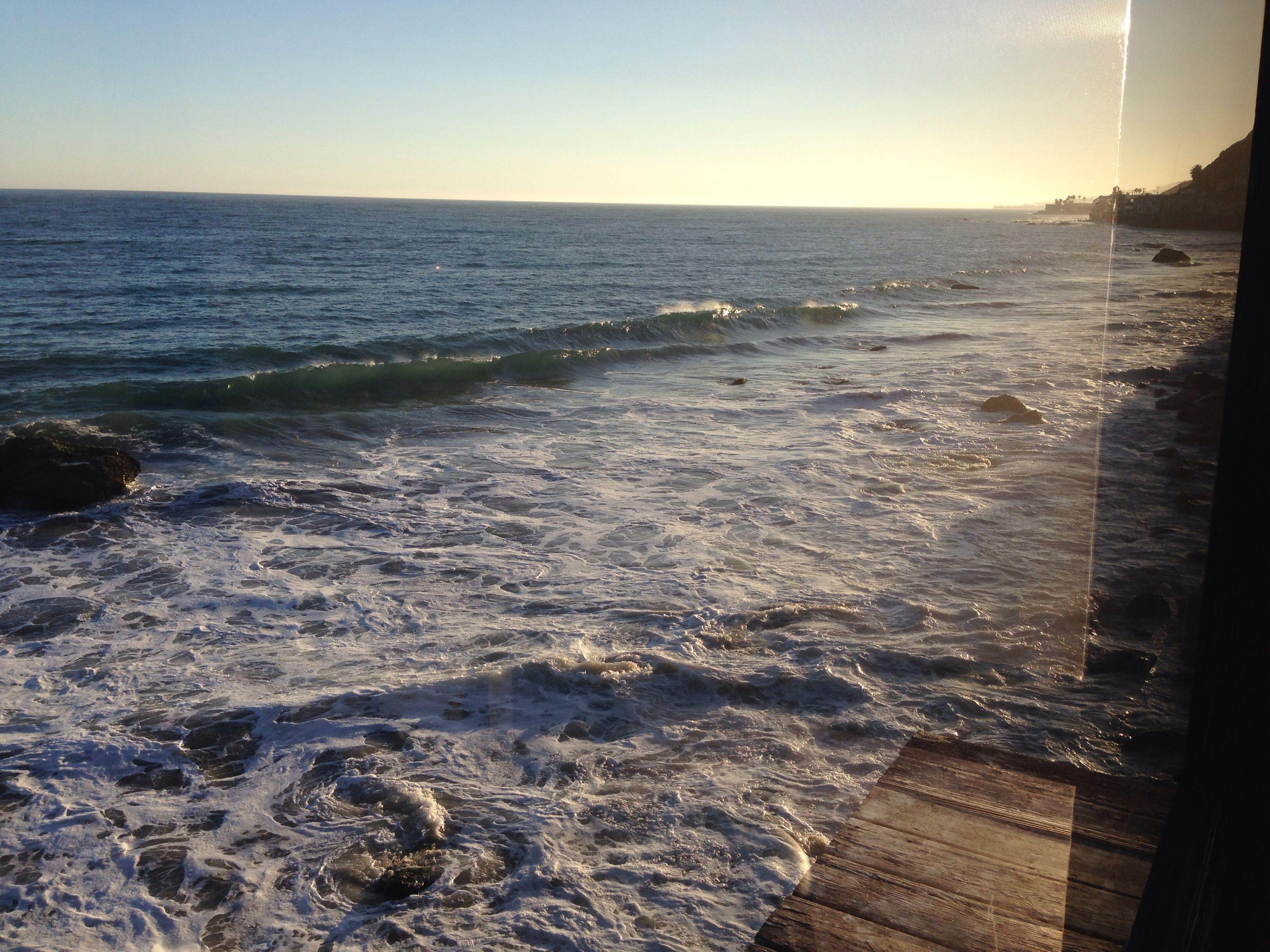 Malibu view. Moondance Restaurant.