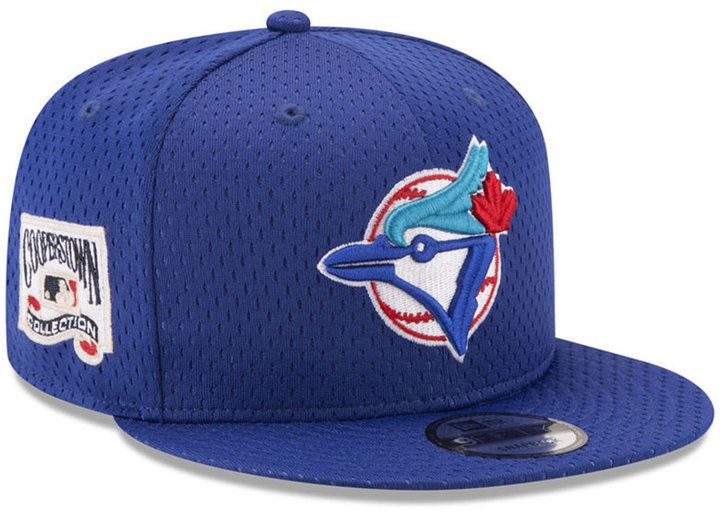 watch great deals buying cheap New Era Toronto Blue Jays Coop Mesh Authentic 9FIFTY Snapback Cap ...