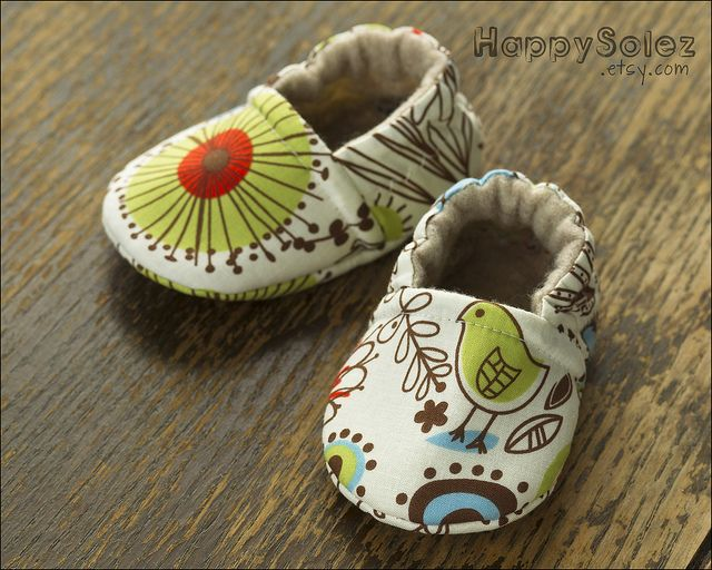 Funky Feet Baby Booties by Happy Solez