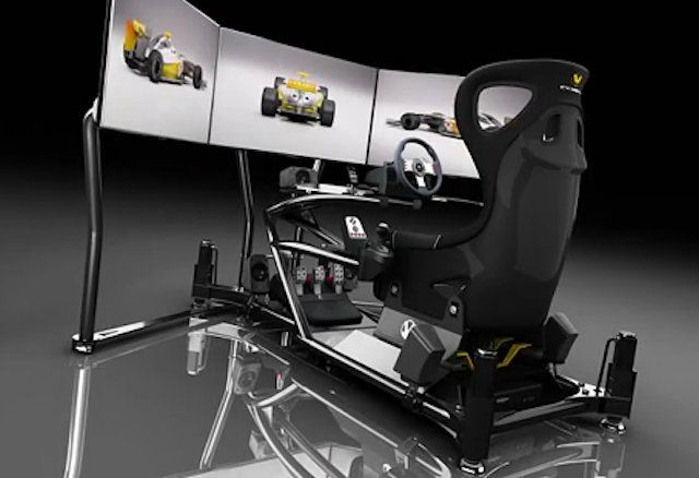 sim rig car lot pinterest rigs. Black Bedroom Furniture Sets. Home Design Ideas