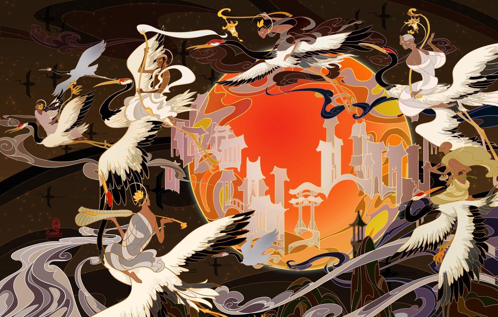 heavenly palace by breathart on DeviantArt Art, Digital