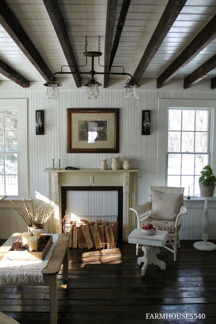 Farmhouse 5540 Farm House Living Room Beams Living Room Cozy