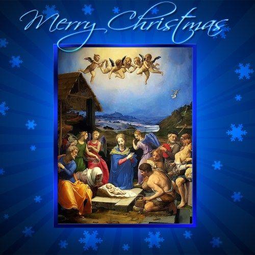 Jesus And Christmas Merry Christmas Christian Wallpaper Free
