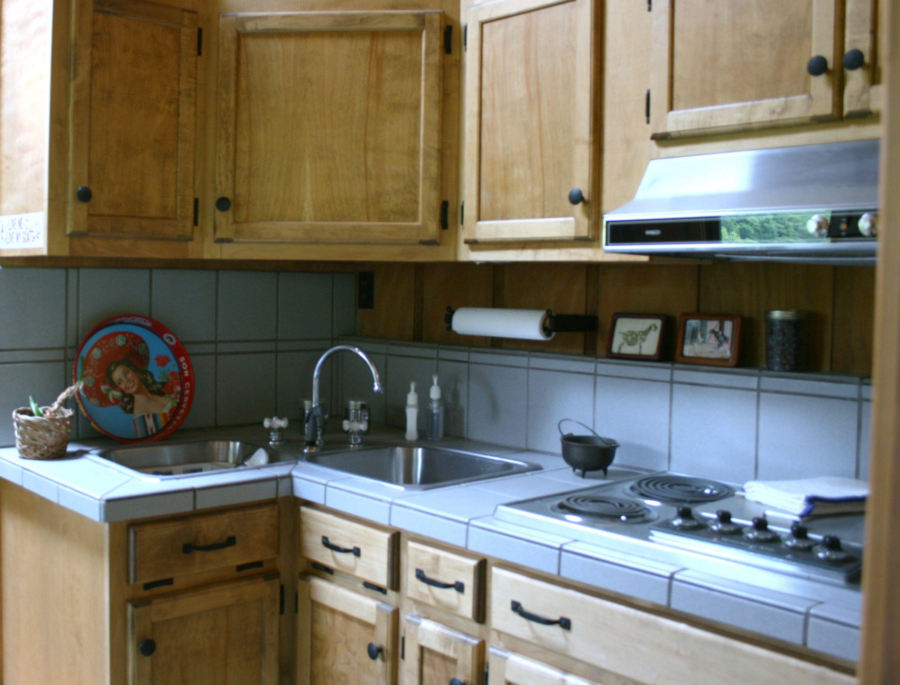The barn has its own kitchen..... Kitchen, Kitchen