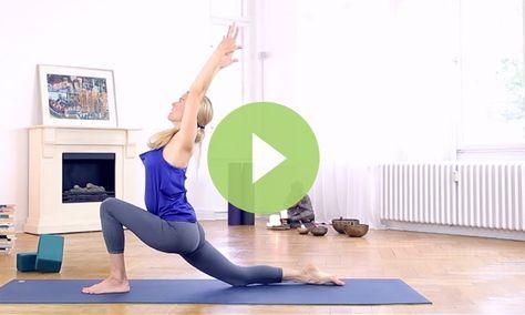 10minute yoga for beginners class video  rotina de