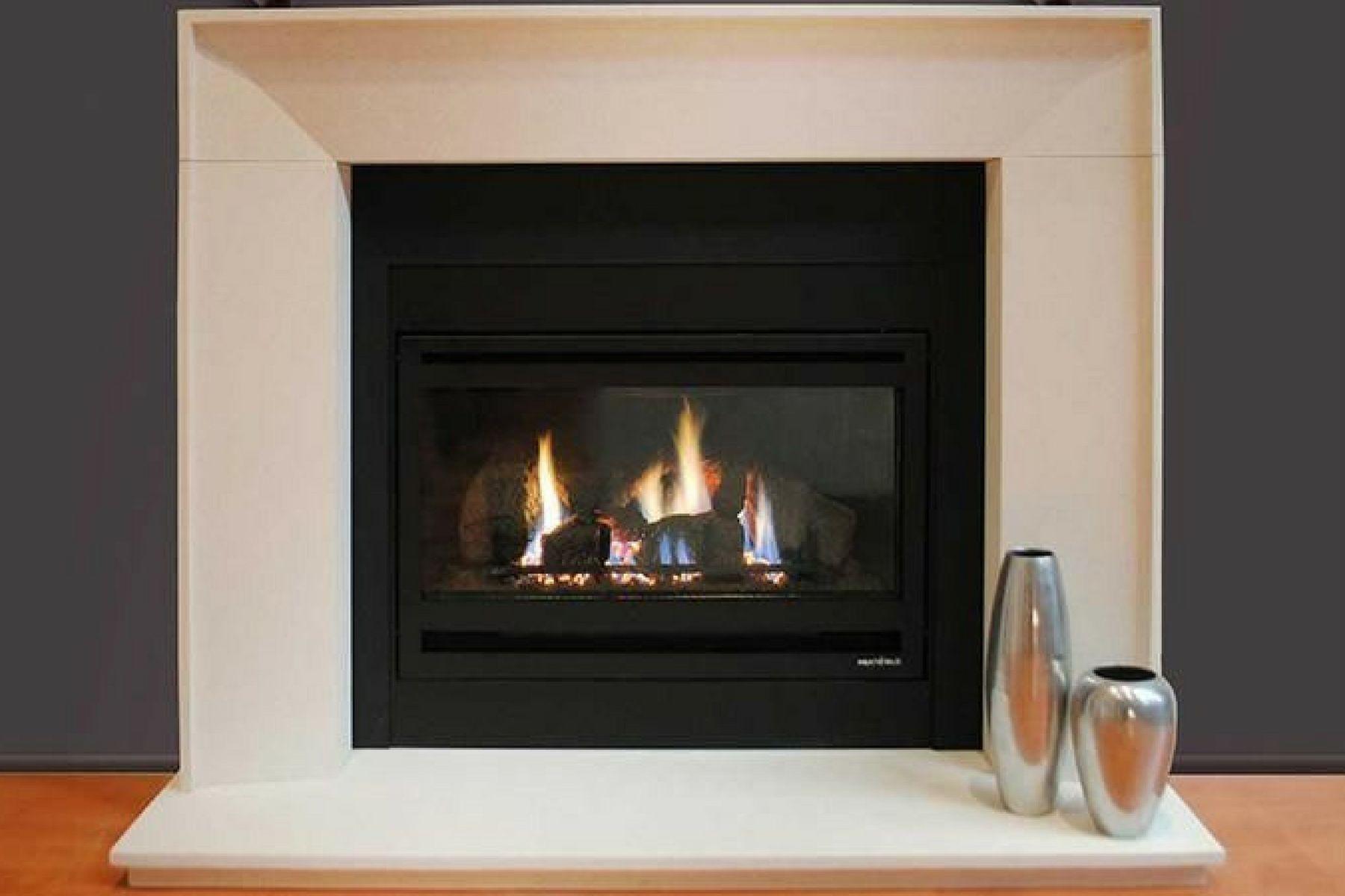 Jetmaster Heat & Glo Supreme I30 Gas Log Fireplace | Gas ...