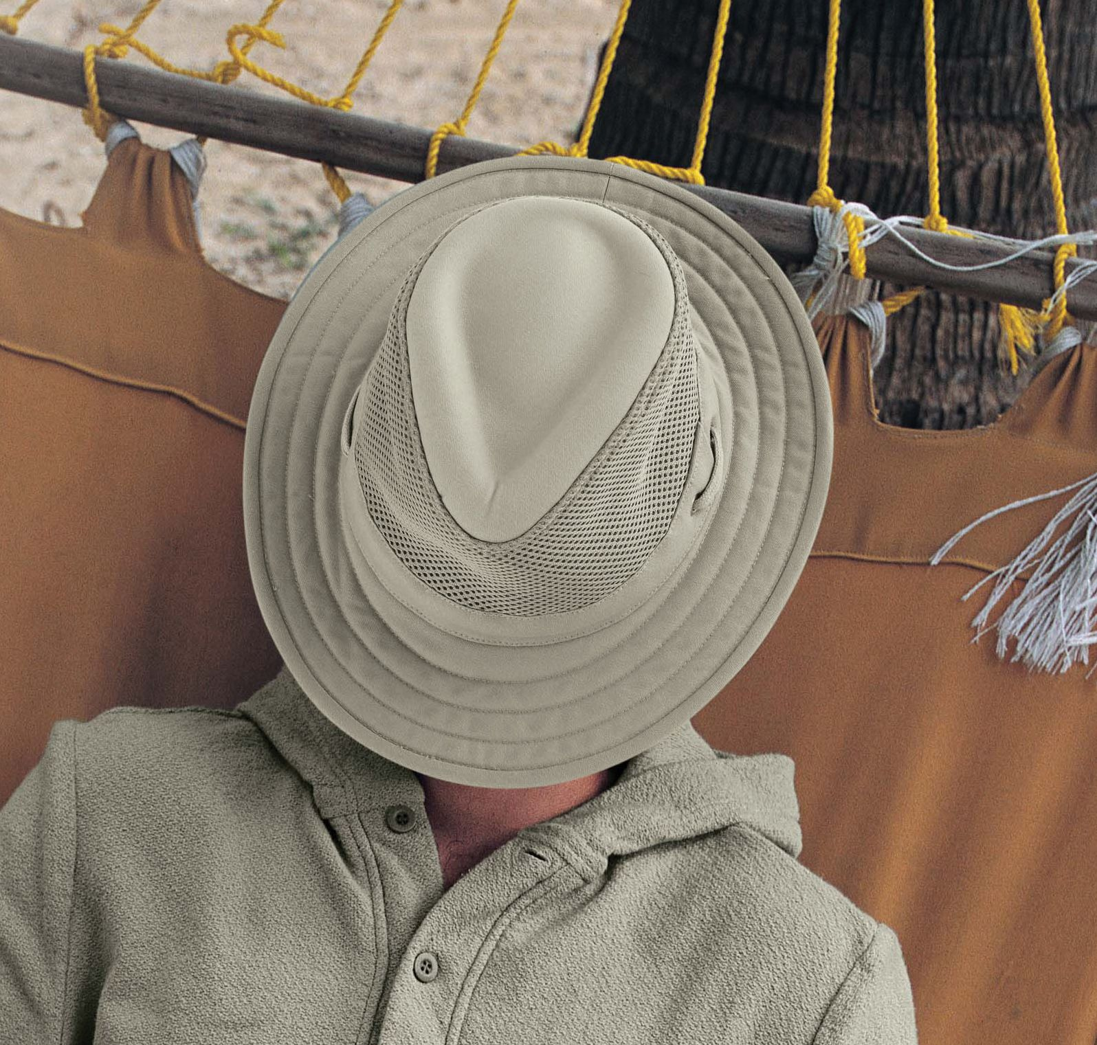 Relax In Your Favorite Tilley Tm10 Hat With Cooling Mesh And A Upf 50 Sun Rating Tilley Hat Hats For Men Upf 50