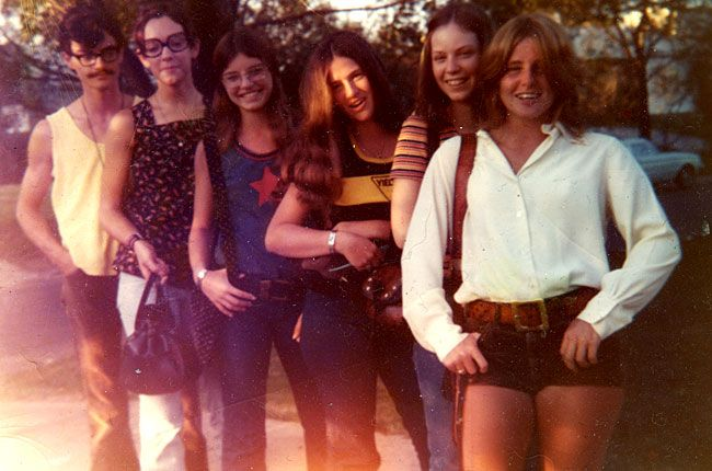 Teens From The 70 S Teens Over The Decades 70s